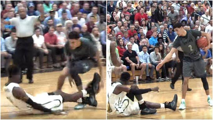 【影片】球哥比賽中晃倒對手,一個動作化解尷尬,Ball紳士風度圈粉!