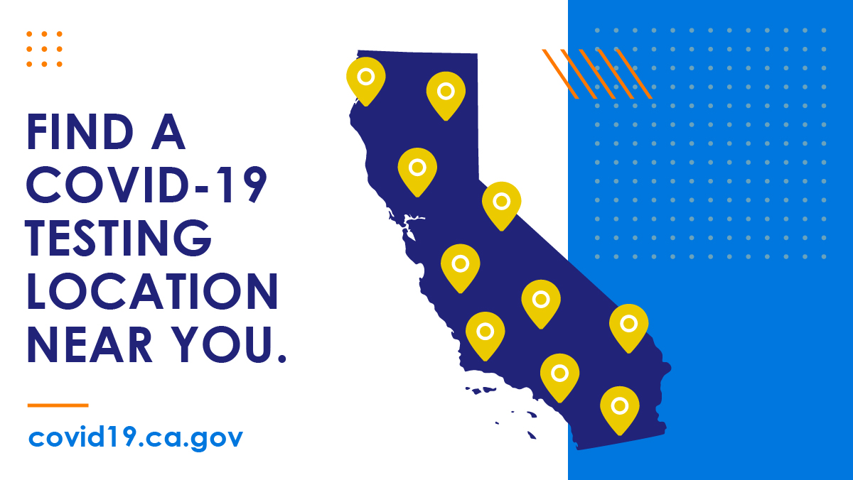 Free and confidential #COVID19 testing is available statewide in California!  🧪 Find a testing site near you: https://t.co/snYe5vmHg6 https://t.co/nmsKEStgja