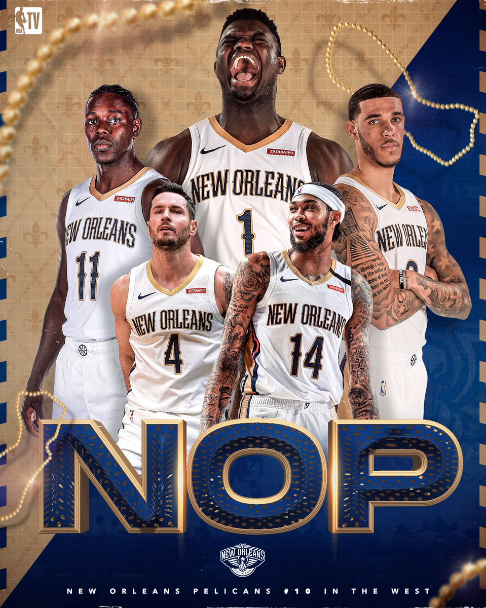 The Big Easy has a lot to be excited about 😤 Catch Team Restart: @PelicansNBA at 9pm ET on NBA TV!