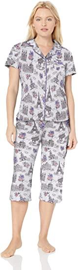Over 20% Off!!!  Karen Neuburger Women's Short-sleeve Pajama Set Pj With Moisture Wicking Technology    #BwcDeals #Deals #dailydeals #DealsAndSteals #fashion