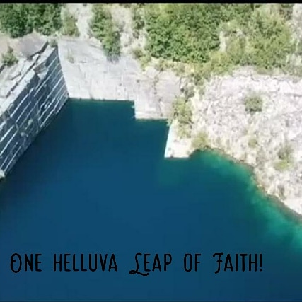 Ever been cliff diving? I got a story for you. Check out my blog:  #veterans, #summerfun, #cliffdiving