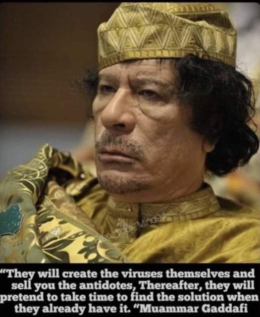 #Gaddafi was right, that's why #France killed him. pic.twitter.com/sGzg8YkXh4