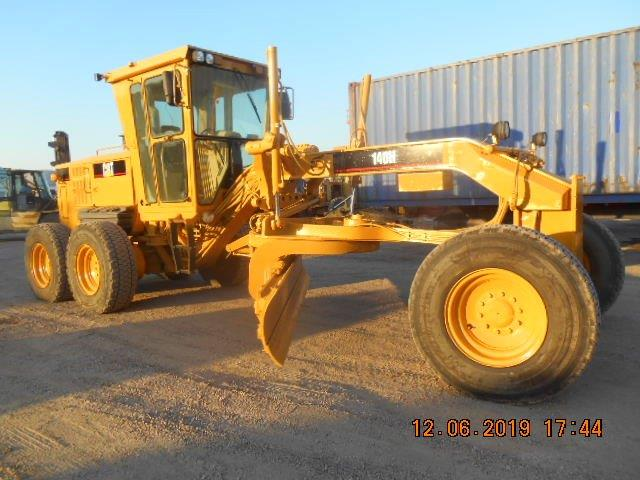 2005 #Caterpillar 140H APM01896 #Motorgrader For Sale in Houston Texas, USA.  Price: $ 72,500  Hours: 13,364, Erops, Air Conditioner, Diff Lock/Unlock, Engine Enclosures, Lift Group, Slipclutch, Lighting. Blade Float.  https://bit.ly/3dYT8Nv  Houston Texas, USA | $ 72,500pic.twitter.com/YJyz2WLKZs