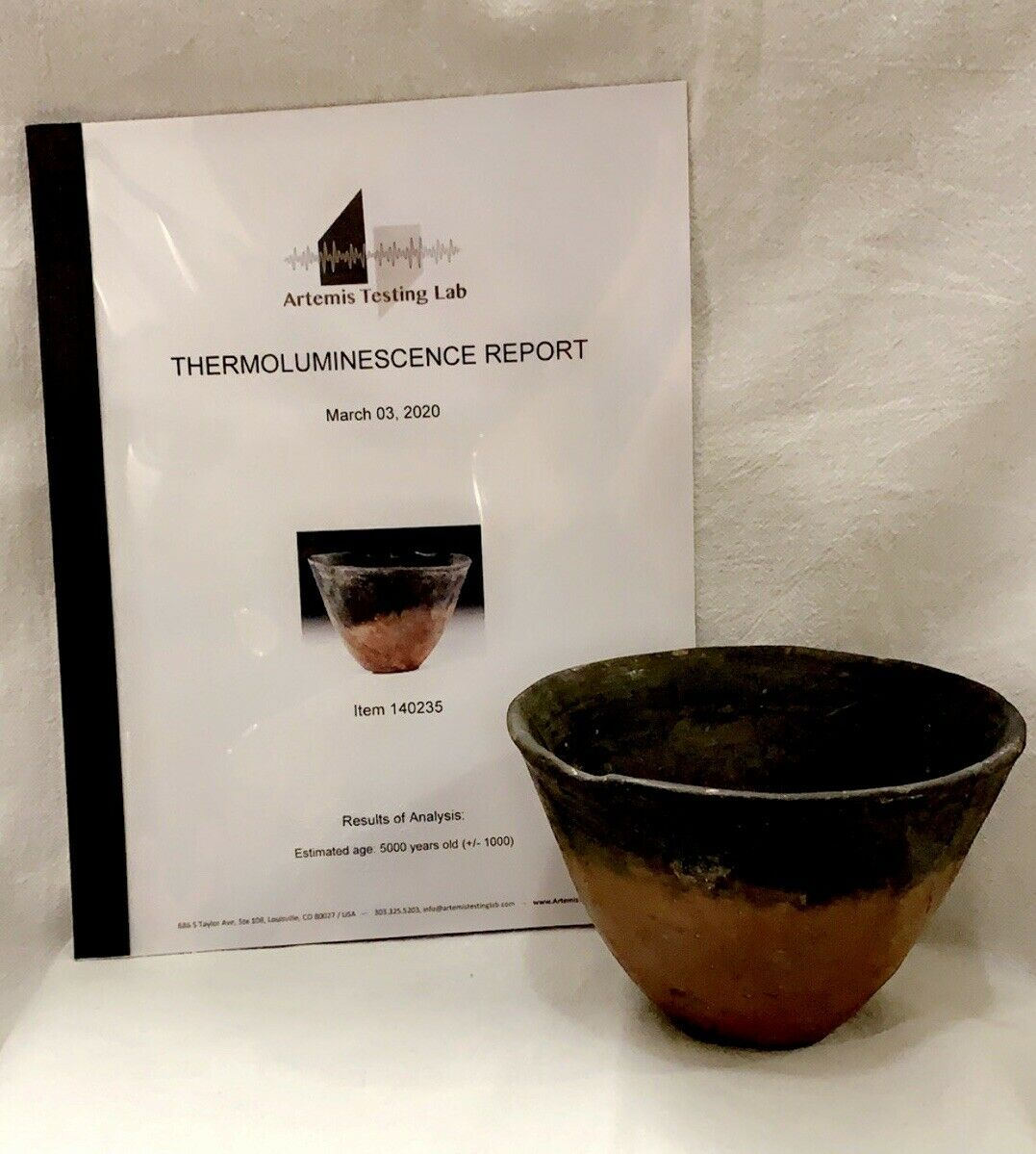 5,000 yr old #Egyptian Pre-Dynastic #Black #Top #Bowl with TL #Report ~ #Ancient #Egypt -   #PreDynastic