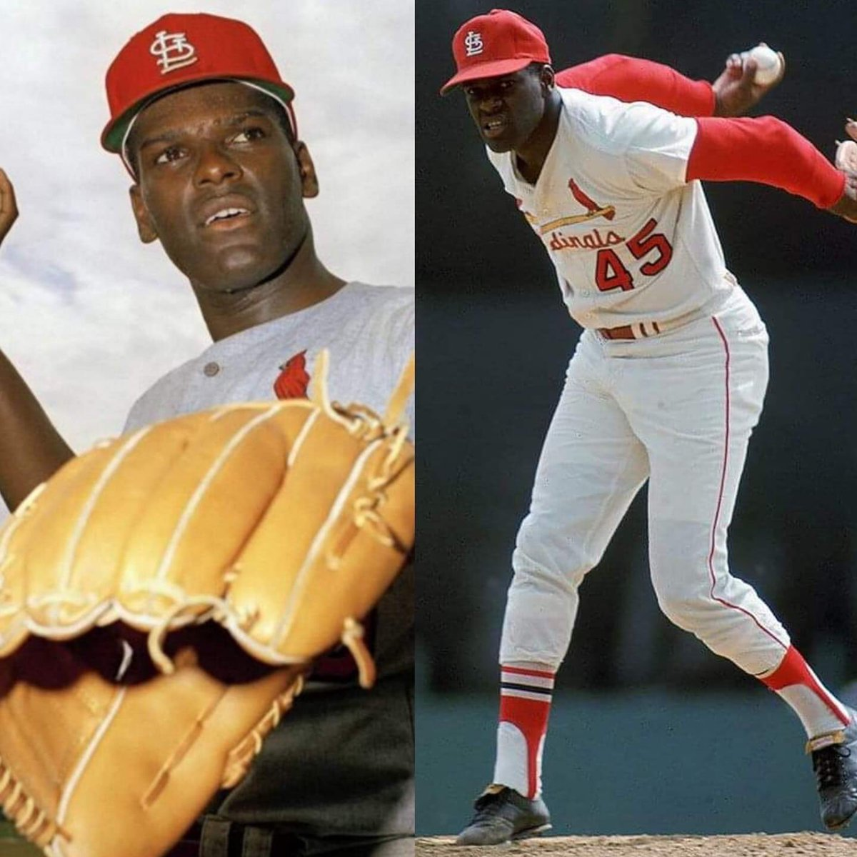 In 1968 Bob Gibson had 34 starts with 28 complete games. He was pinch hit for only 6 times. He was never removed off the mound . Ended with a 1.12 ERA https://t.co/hBm3z9n3Oz