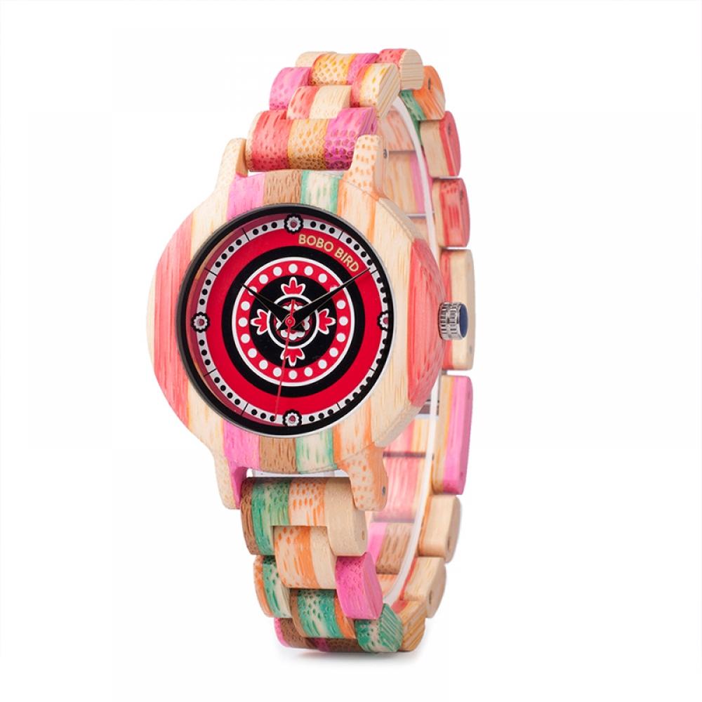 #like4like #instafashion Women's Pink Wooden Watch