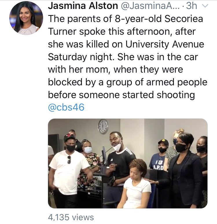 "@SenDuckworth Tammy only likes certain #black lives. Only certain ones. She hasn't said one word about the children that were killed over the last month by her ""friends"" at #blacklivesmatter   Tammy actually promotes this kind of violence."