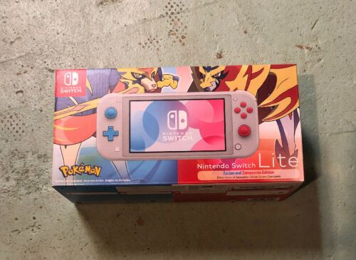 Check out the Nintendo Switch Lite Zacian And Zamazenta Pokemon Sword Shield Edition BRAND NEW and other electronics at https://t.co/eTb5etF8Zr  https://t.co/setmiFc3CL  #nintendoswitch #nintendo #ps #gaming #gamer #videogames #animalcrossing #pokemon #playstation #switch https://t.co/cenqQRDGVM