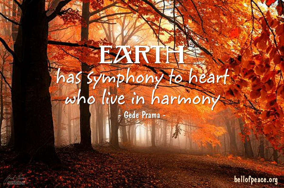 Earth has... #Peace #gedeprama #bali #beauty #happy #healthy #holy #innerharmony #JoyTrain  Photo courtesy: Pinterest https://t.co/FjwLUb5OBs