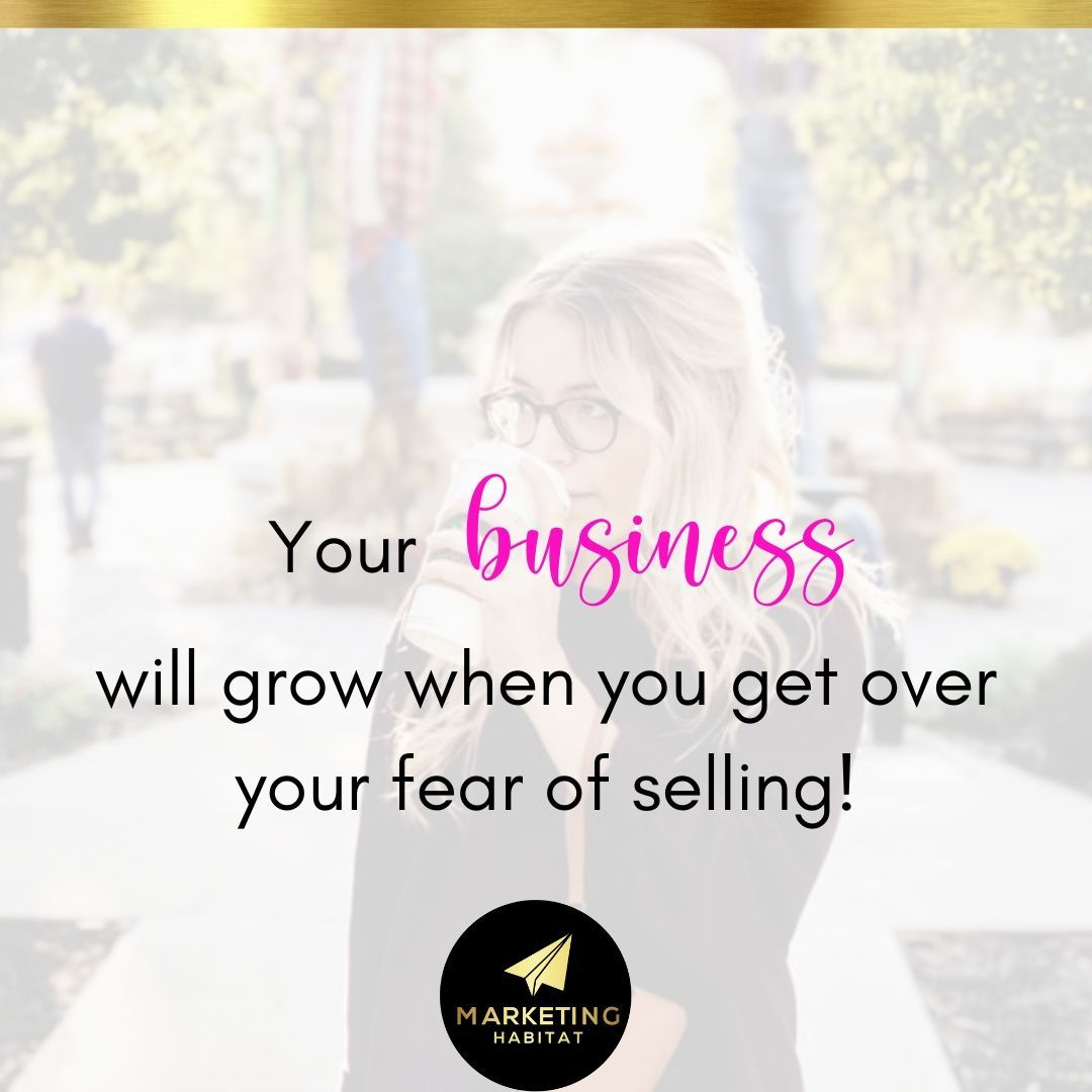 Your business will start growing when you get over your fear of selling!  #smallbusiness⠀⠀⠀ #socialmediatips⠀⠀⠀ #marketingideas⠀⠀⠀ #marketinghabitat⠀⠀pic.twitter.com/pABJtE22jB