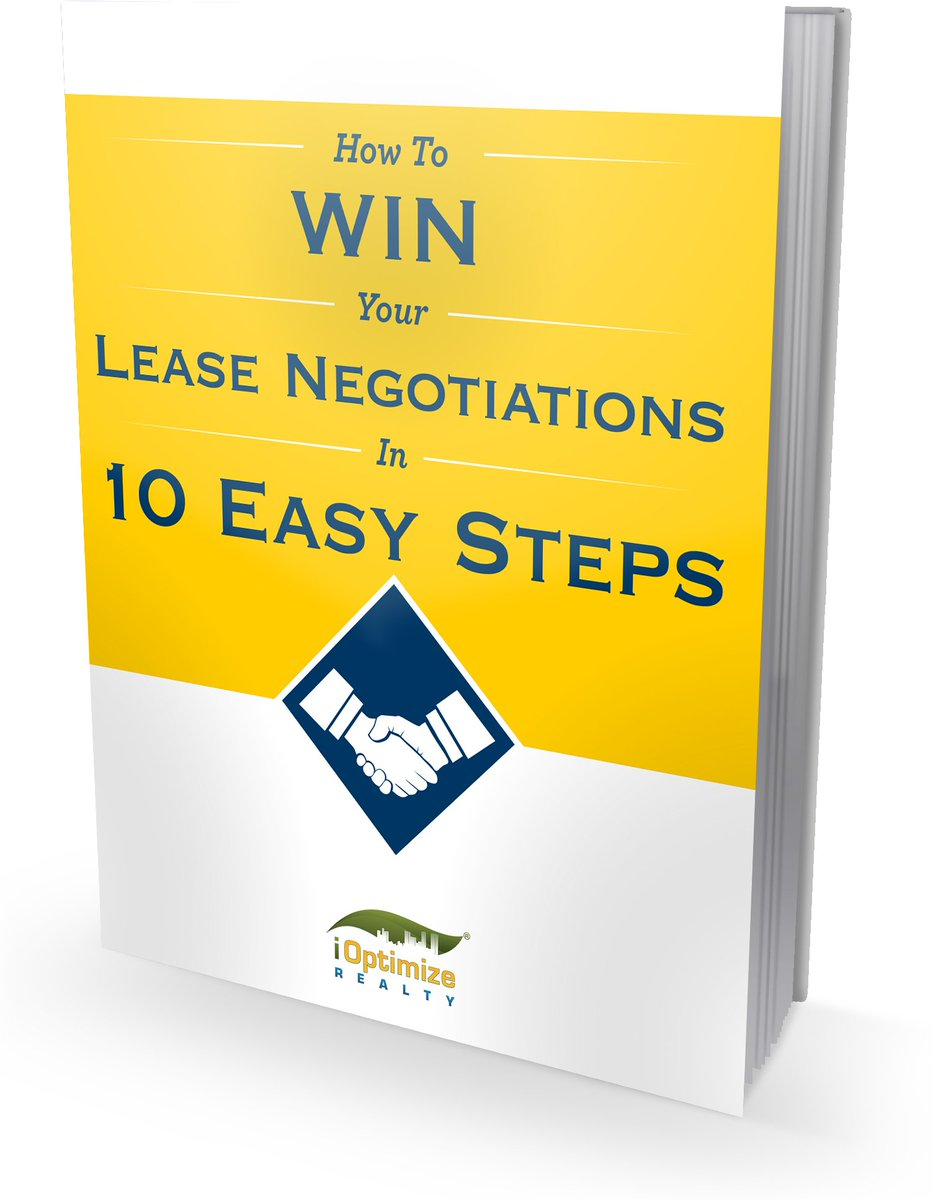 Ways to Win Your Next Commercial Lease Negotiations in 10 Easy Steps #CRE #TenantTips #eBook #Negotiation #Office #Warehouse #TenantRep #Leasing https://t.co/OUqd8bU5Fa https://t.co/0CcsYoUJIc