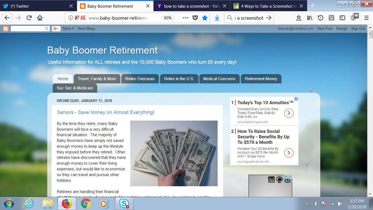 Retired or planning your retirement? Follow the free Baby-Boomer-Retirement blog. Hundreds of articles on retirement, financial planning, common health issues, Social Security, Medicare and more!  Link: https://t.co/irEPPmfwd2   #retirement #Medicare #SocialSecurity https://t.co/9O387Xn6v1