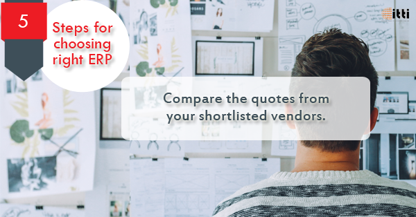Get the detailed quote from the shortlisted vendors compare their pricing, terms of what vendors will offer with support and training. #thechallenge #erpsolutions #decisionmaking #Steps2Successpic.twitter.com/oDXzKxacqV