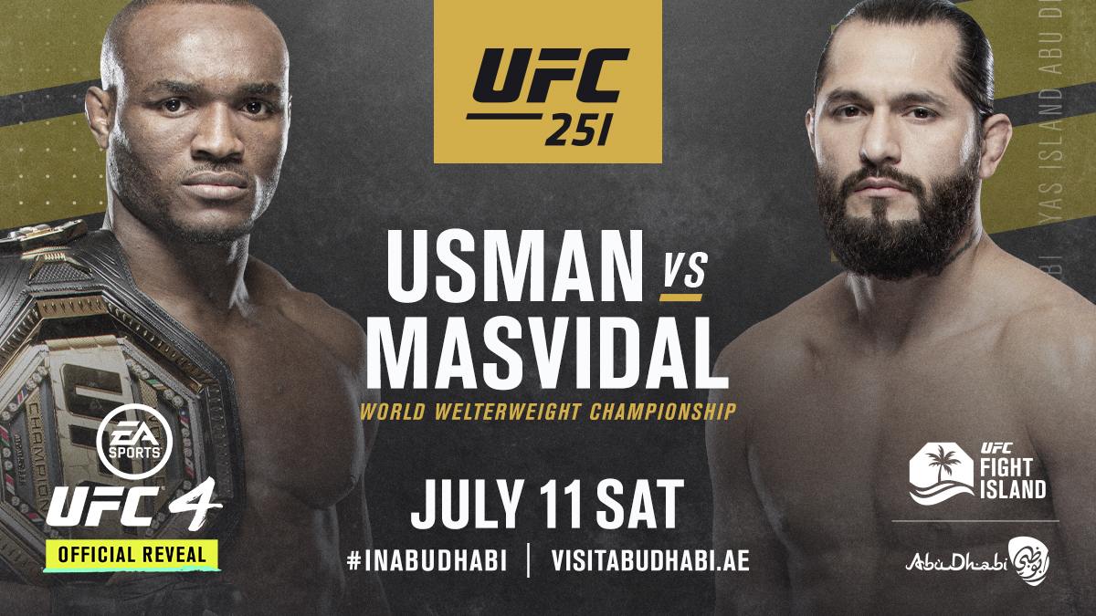 OFFICIAL. 🏆 🤬 The BMF steps in on six days notice for #UFC251 @VisitAbuDhabi #InAbuDhabi