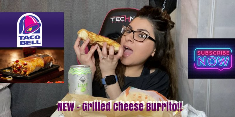 NEW Video! #Mukbang #TacoBell #GrilledCheeseBurrito Go Subscribe!! See you there!! #TacoBellsGrilledCheeseBurrito #TacoBellMukbang #Burps #TacoBell #Foodie #EatingShow #Review #Mukbanger #Mukbangs #EatingSounds #CrunchyTacos #TacoSupremes #YouTubeMukbanger #ValerieIRL LINK IN BIO https://t.co/CsCnbFodeb