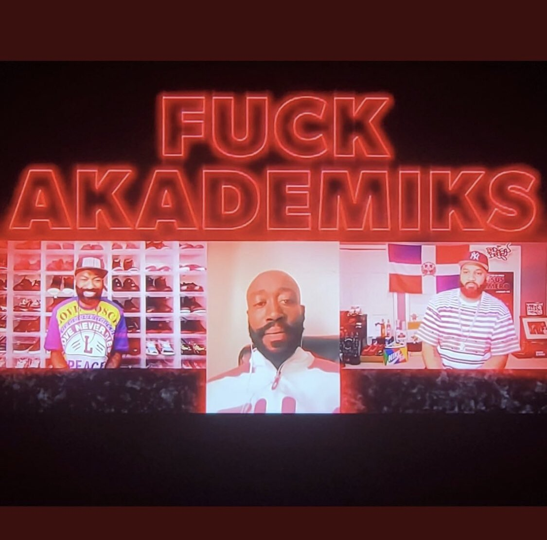 """Freddie Gibbs has ascended to elite levels of petty. Mans done took his """"Fuck Akademiks"""" tour to national TV. A king."""