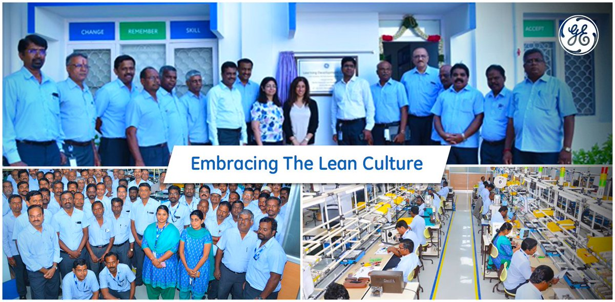.@gegridsolutions Grid Automation Pallavaram plant in #India embraces change as part of their work culture. With the application of advanced #Lean & #Digital initiatives to cut waste across all manufacturing processes, they help boost productivity & reduce lead times to customers https://t.co/Lrm2NTSFsq