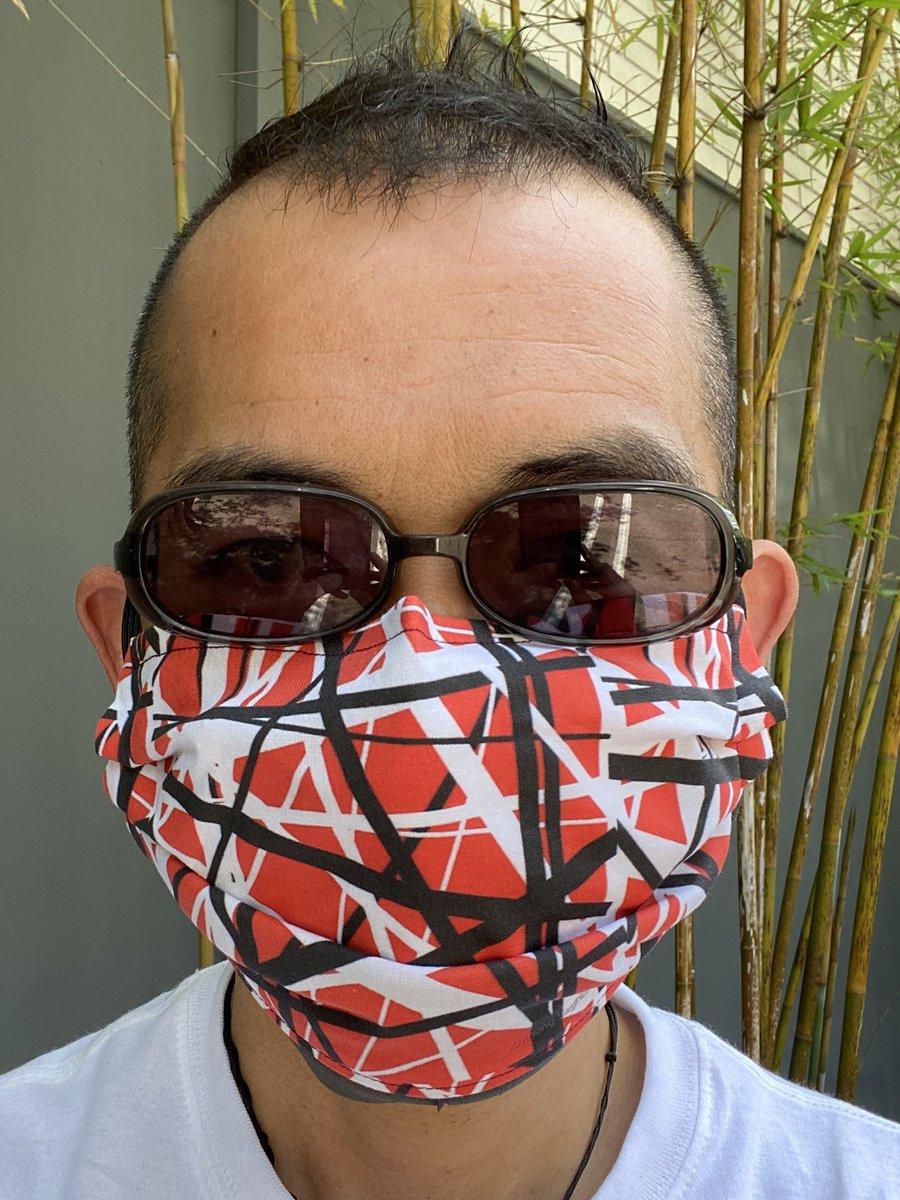 Got a brand-new mask! DM me for info  #WearAMask #VanHalen <br>http://pic.twitter.com/sIk3SVkx1P