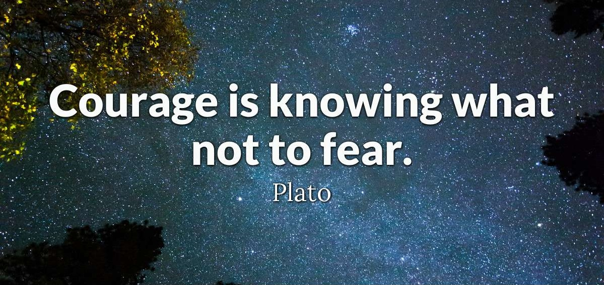 """Courage is knowing what not to fear."" - Plato #webner #mohali #goodmorning #Morningquote #motivational #inspirational #dailypost #successmotivation #courage #fearpic.twitter.com/MBvK5dufPV"