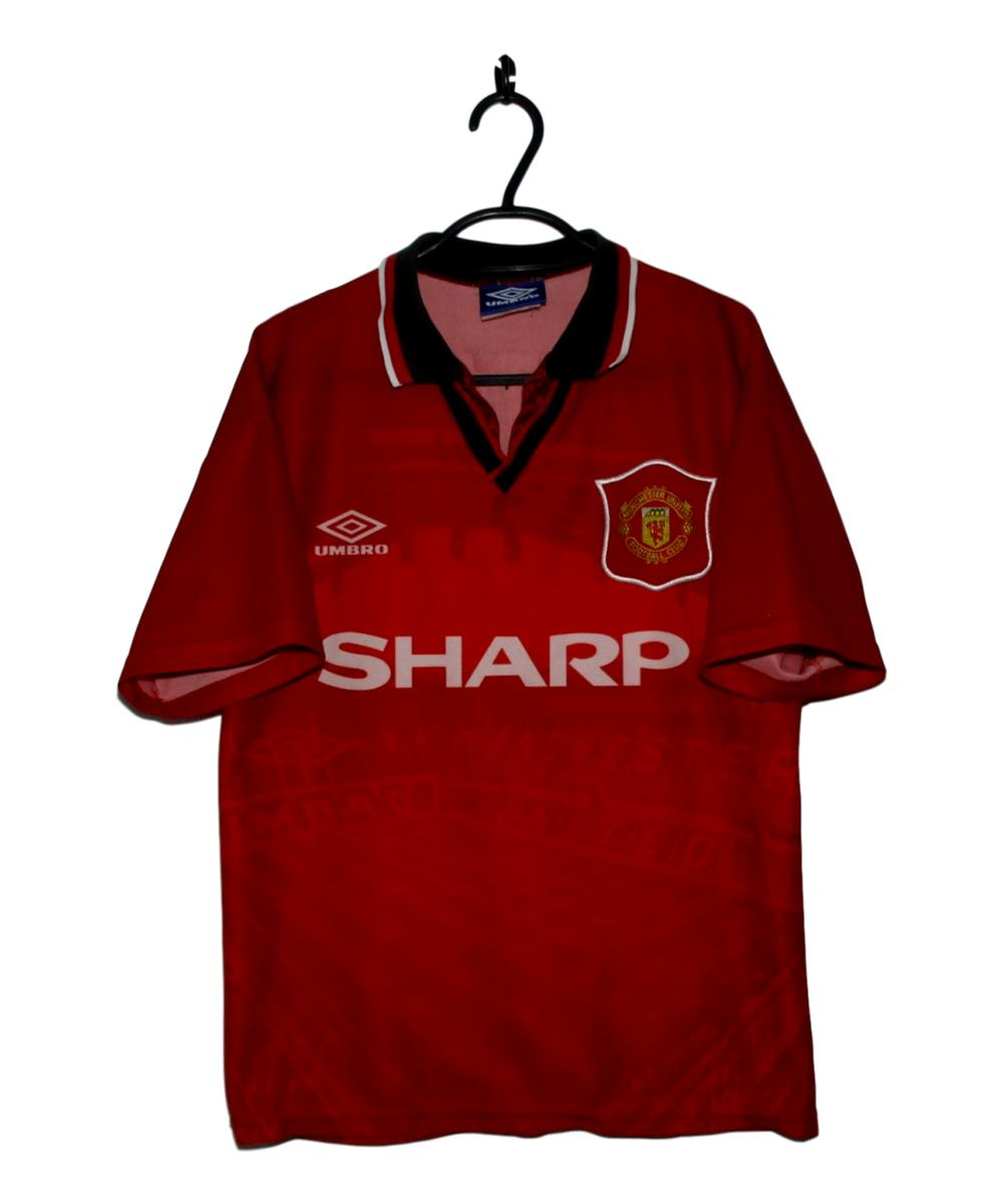 Checkout this 1994-96 Manchester United Home Shirt Cantona (Y)! #1994-96 #Cantona #ManUtd #ManchesterUnited #MUFC #Umbro  Buy Now https://t.co/hPkctKteDG https://t.co/Ot055OFie9
