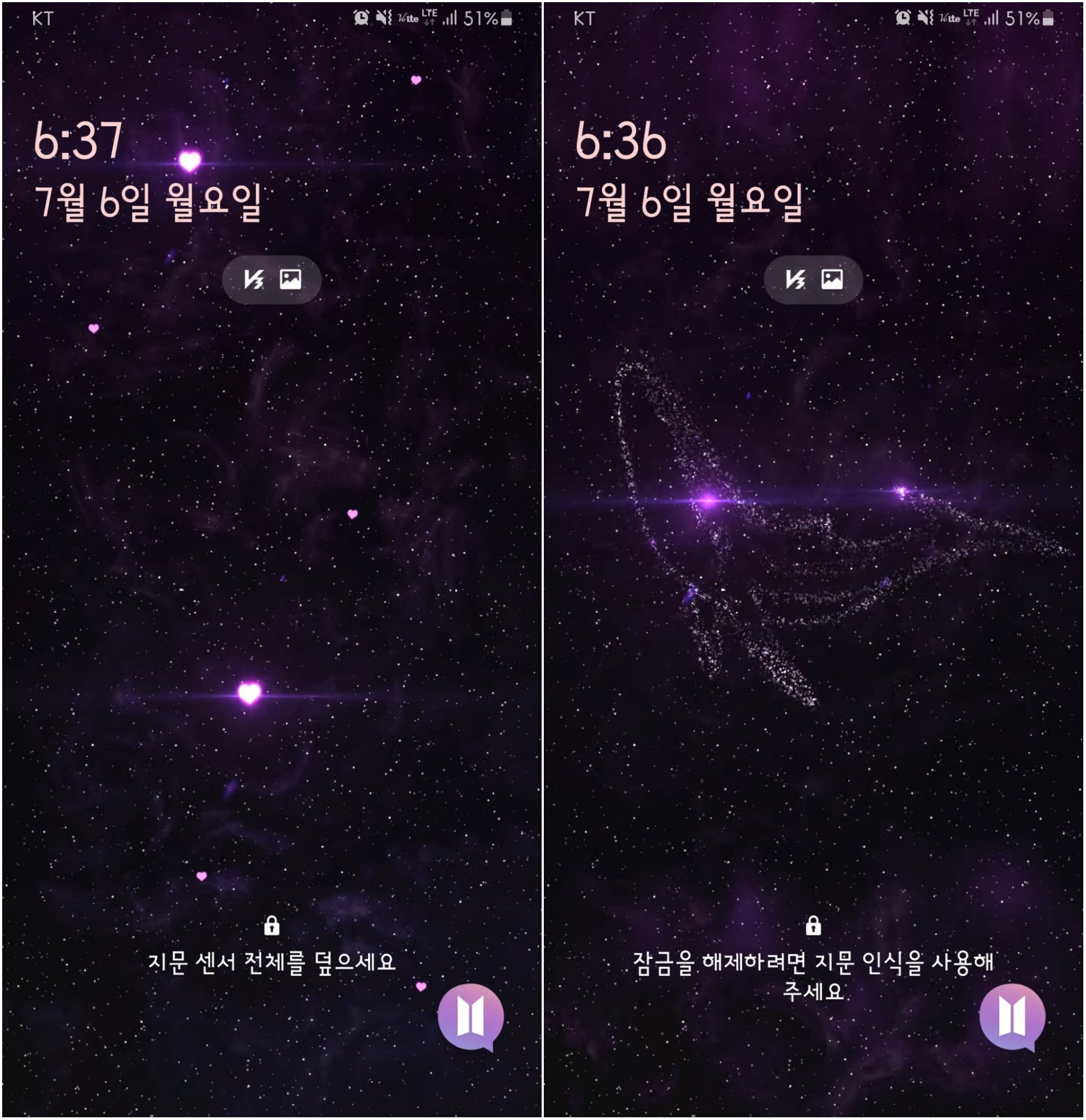 Hiatus 아미살롱 ᴀʀᴍʏ Sᴀʟᴏɴ On Twitter You Can Get Bts Smart Buds Cover On Your Galaxy Phone It S Like One Of Galaxy Themes My Phone Is Galaxy 9 And I Could Use It