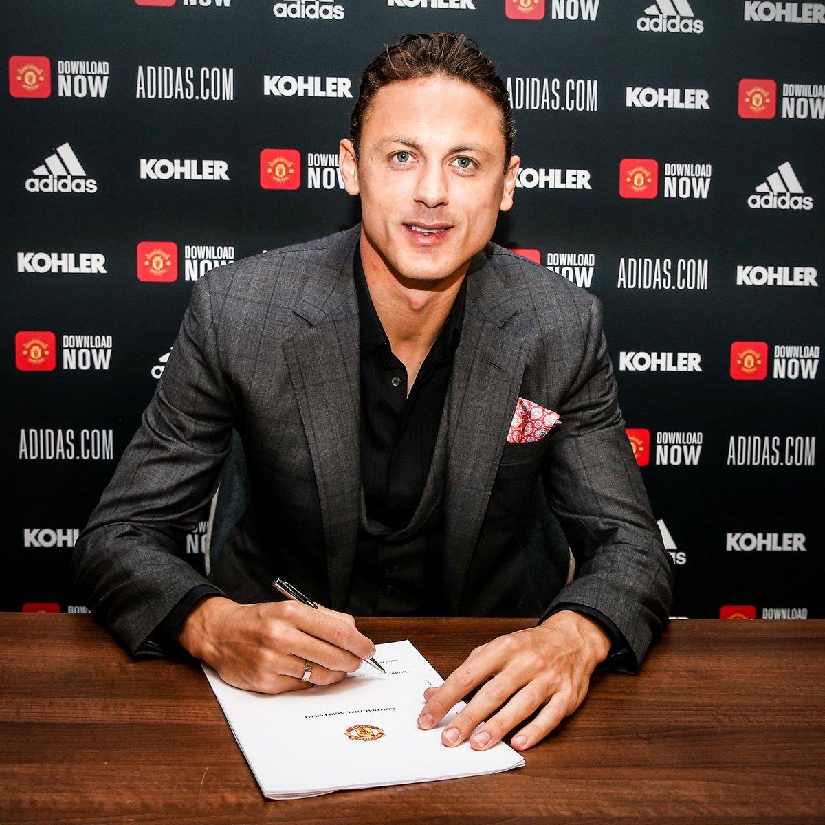 OFFICIAL: Nemanja Matic has renewed with Manchester United until 2023 ✍️ https://t.co/DdTuGUx0jz