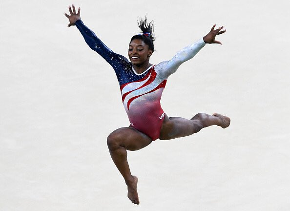 Whilst @simonebiles is the most decorated American gymnast with a combined total of 30 #Olympic and World Championship medals, as well as having four unique #gymnastics moves named after her. https://t.co/9aHtTuWTqr
