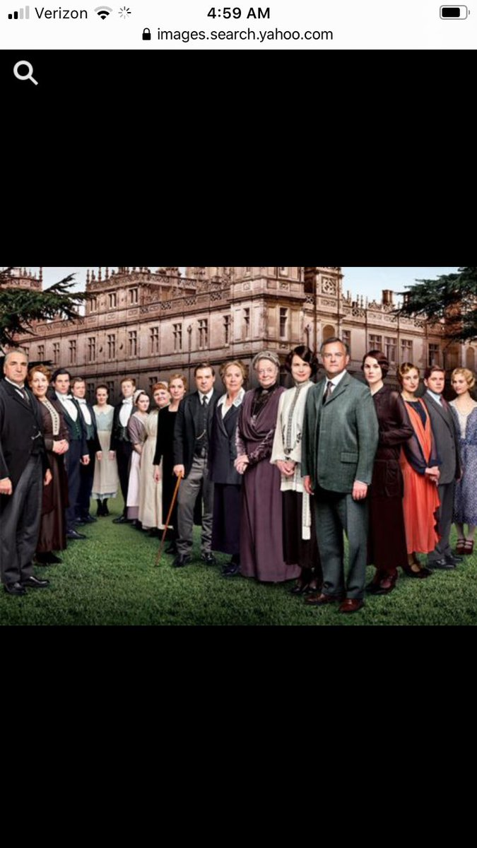 When I'm between shows or a series, I watch an episode of Downton Abbey. I found that I missed it. I keep my connection that way. #downtonabbey <br>http://pic.twitter.com/xpZpU6ht3Q
