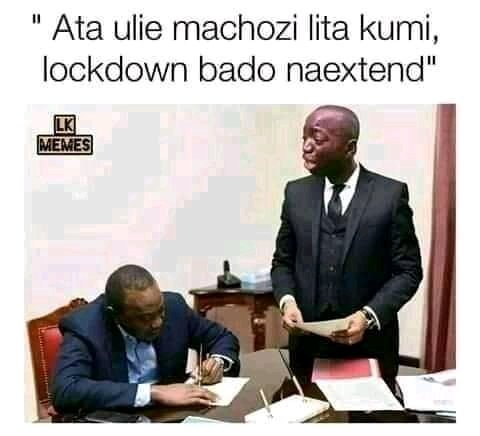 Let's wait and see..  #UhuruKenyatta  #UhuruDontLiftLockdown  #lockdownextension  #statehouse  #sharon  #jayden  #moseskuriapic.twitter.com/5KuYlnN59f