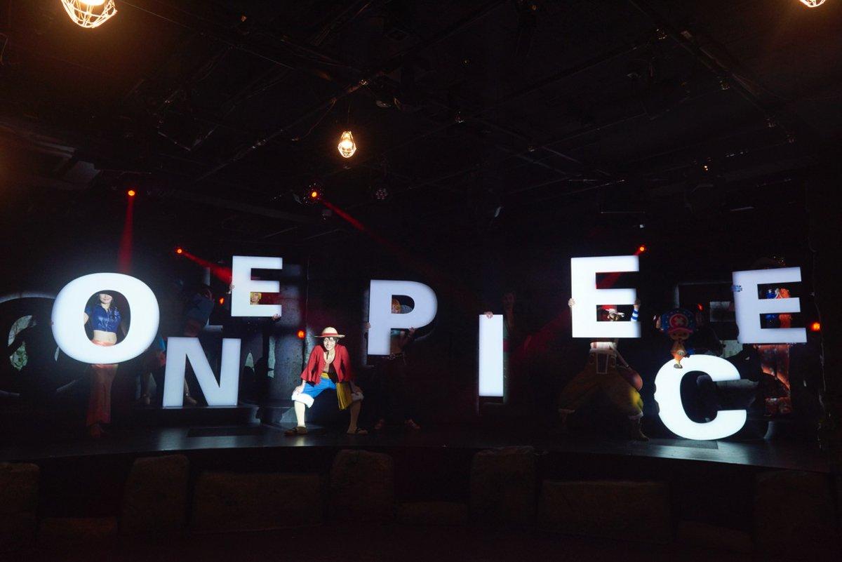【#ワンピースタワーの思い出 その3じゃ】 #ルフィ 達が初めて #トンガリ島 を冒険したのは「ONE PIECE LIVE ATTRACTION ~Tongari Mystery Tour~」じゃったのう😌 2015年12月14日は2000公演を達成したんじゃ🤩 心に勇気をもつ合言葉、もちろん覚えとるじゃろ? せーの \トン・シン・ターン‼️💫/ https://t.co/rRTZUY8utM