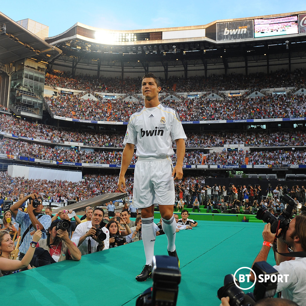 80,000 fans turned out at the Santiago Bernabéu to welcome their new hero...  EIGHTY. THOUSAND.  He didn't let them down 👑 https://t.co/axf0oIW8HG