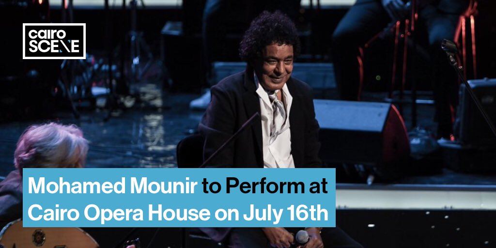 In one of the first major performances since lockdown ended, @Mounirofficial will play at the @CairoOperaHouse on July 16th.  https://t.co/gMITgzpHTm https://t.co/mJUSBH8rPs