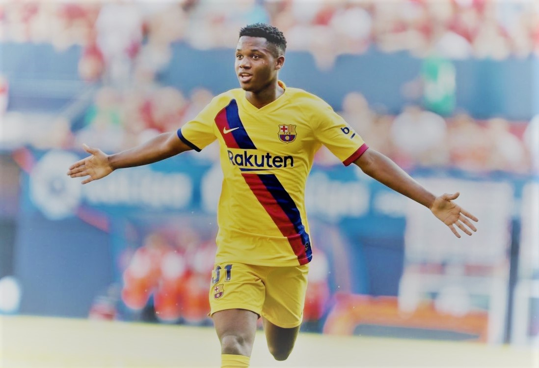 #ansufati 17 year old - keep scoring for #barcelona in #laliga  Making of another greatness...pic.twitter.com/NWyxA3XObi