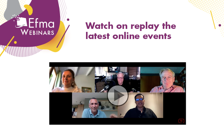 The first half of 2020 was full of twists and turns, but Efma remained faithful to its position by keeping financial services professionals informed and connected  Check out the replays for our latest online events and let's remain united 🚀 ➡️ https://t.co/4g65EiaaXs https://t.co/eW7RrQ1yFa