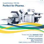 Image for the Tweet beginning: The Stahlfolder TH 56 folds