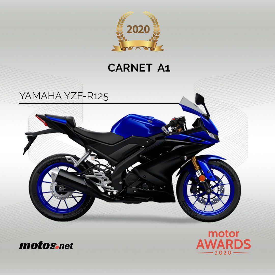 La #YZFR125 ha sido escogida por @motosnet como la mejor moto del año en la categoria #A1 de los #NakedAwards 2020   #yamaha #yamahabarcelona #barcelona #riders #motorbike #talleryamaha #piezasyamaha #juntosmasfuertes #motocicletas #awards #premio #instamoto pic.twitter.com/i2j1ERPBvi