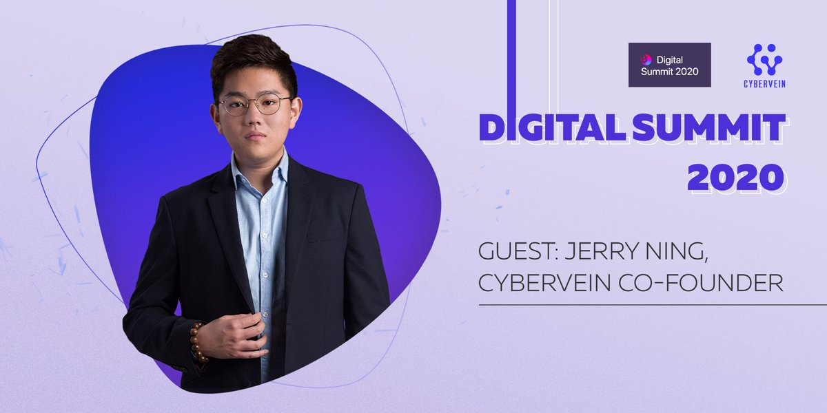 """Great news! ⠀ Our co-founder Jerry Ning will be a speaker at the Digital Summit 2020 Russia! ⠀ Jerry's speech """"Free as in Free TON, not as Free Beer"""" takes place on July 9. Don't miss it! ⠀ https://www.digitalsummit2020.com/en#speakers ⠀ #blockchain #digital #summit #moscow #event #cyberveinpic.twitter.com/XWOYXJZBl1"""