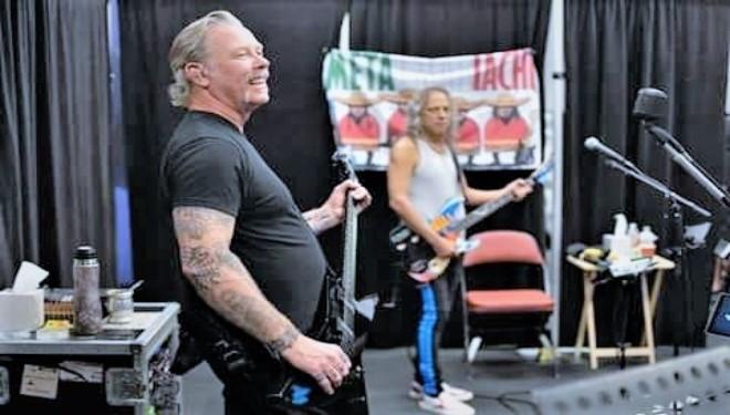 """"" Good Morning Metallica friends .. Lets Start this New Week .. <br>http://pic.twitter.com/NqFTQXDktc"