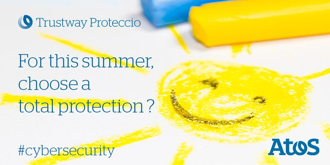 [#CyberSecurity] 🌞 Summer Holidays ! Don't forget your solar cream, your hat,...