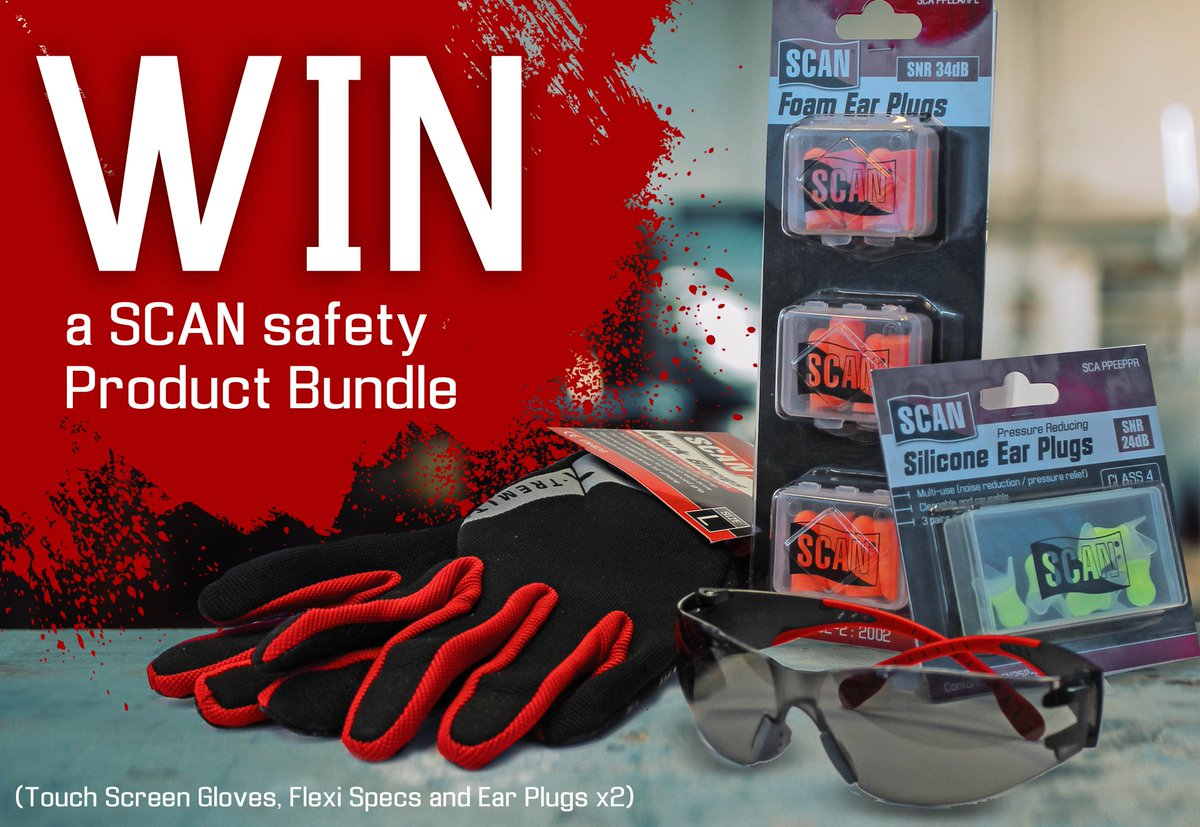 We're kicking off this week with a competition! For your chance to win a SCAN product bundle simply tell us which F1 driver was spotted wearing a SCAN face mask recently? Dont forget to follow and  share! Winners announced next Monday! #win #competition #safety #ppe #glove #specspic.twitter.com/haCNKCNF2q