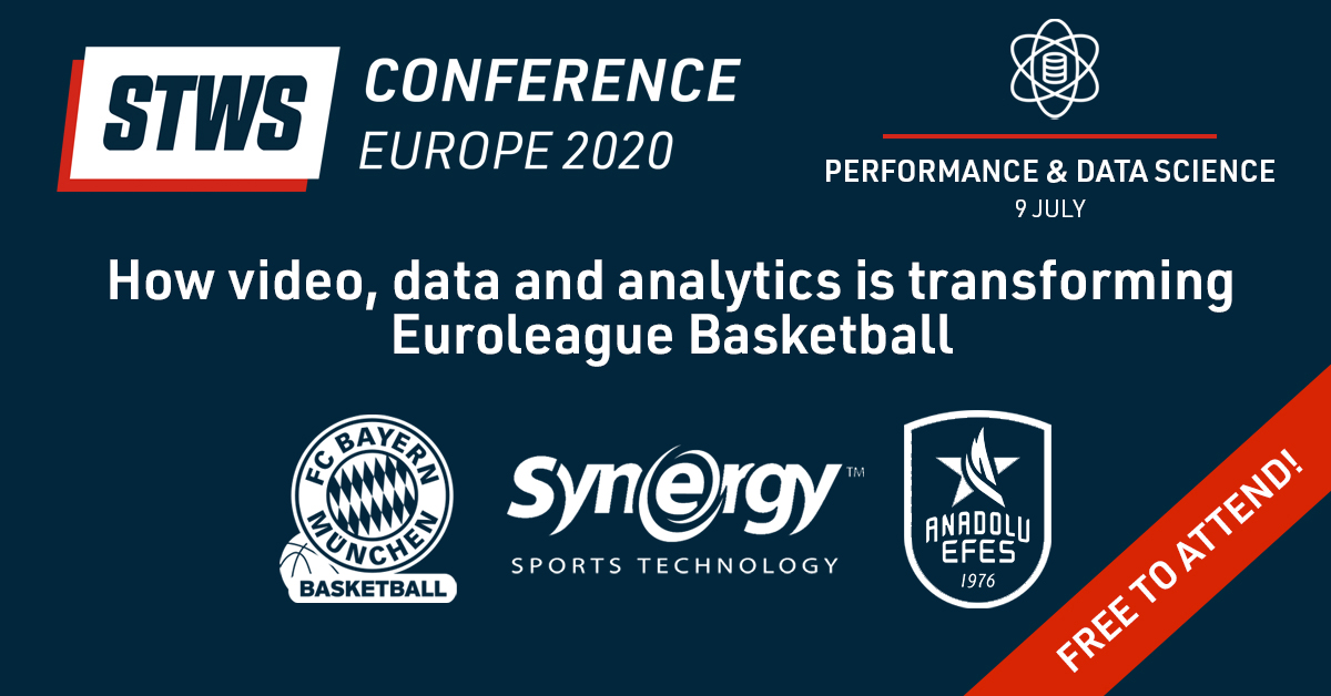 This week we host our next webinar in partnership with @sportstechws. This time we focus on how elite basketball teams use video, data & analytics across player scouting, game preparation & player development. Thursday 9th July, 11:30 CET  Sign up here: https://t.co/tfRL4N0bWs https://t.co/fxh6vTZO3b