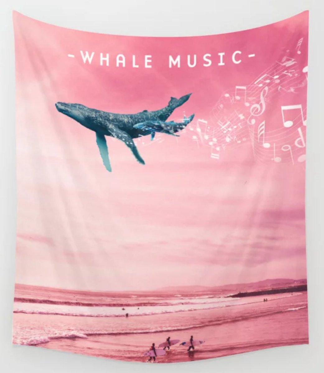 Get Some Whale Music, Now at my #Society6 #Shop Here is the link https://t.co/X1PlrK0OUt  #wallart #tropical  #art #prints #giants #art #wallart #artprints #giftideas #gift #kidsroom #homedecor #fish #beaches #tropicalfish #fantasyart #dormroom #whales #surf https://t.co/Pzkn2Fl78b