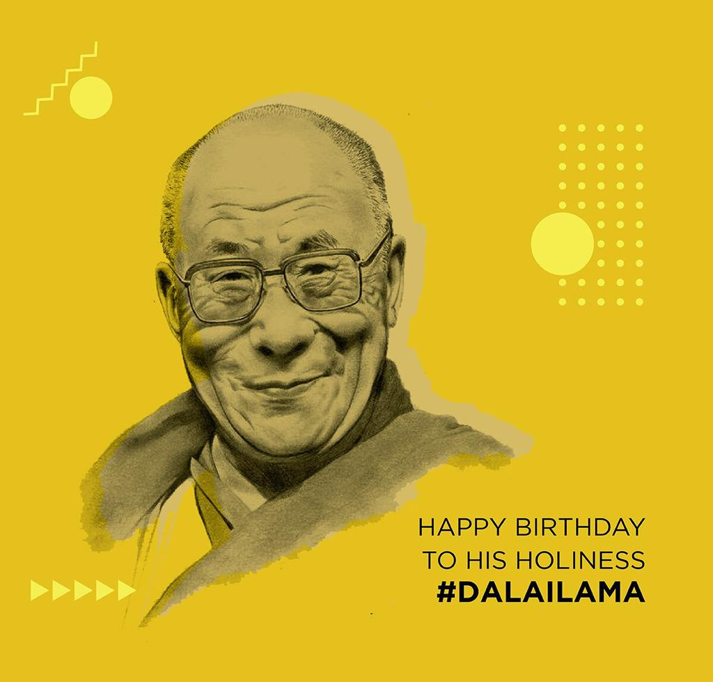 We are happy to be from nation which gave asylum to you  Your work and intention are pure  We will surely #FreeTibet for you  Happy birthday @DalaiLama ji  #DalaiLama #kolhapur #Maharashtrapic.twitter.com/tCPycj1bmx