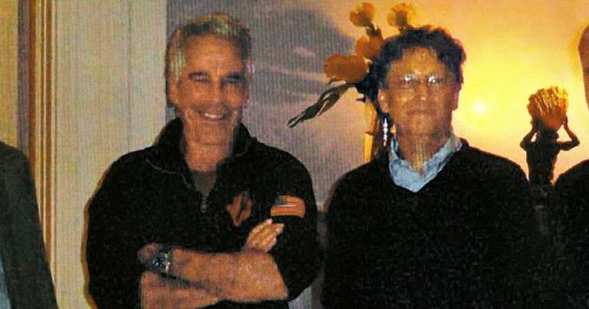 Bill Gates was keeping company with Jeffrey Epstein.What did Bill Gates know about raping and abusing young girls.