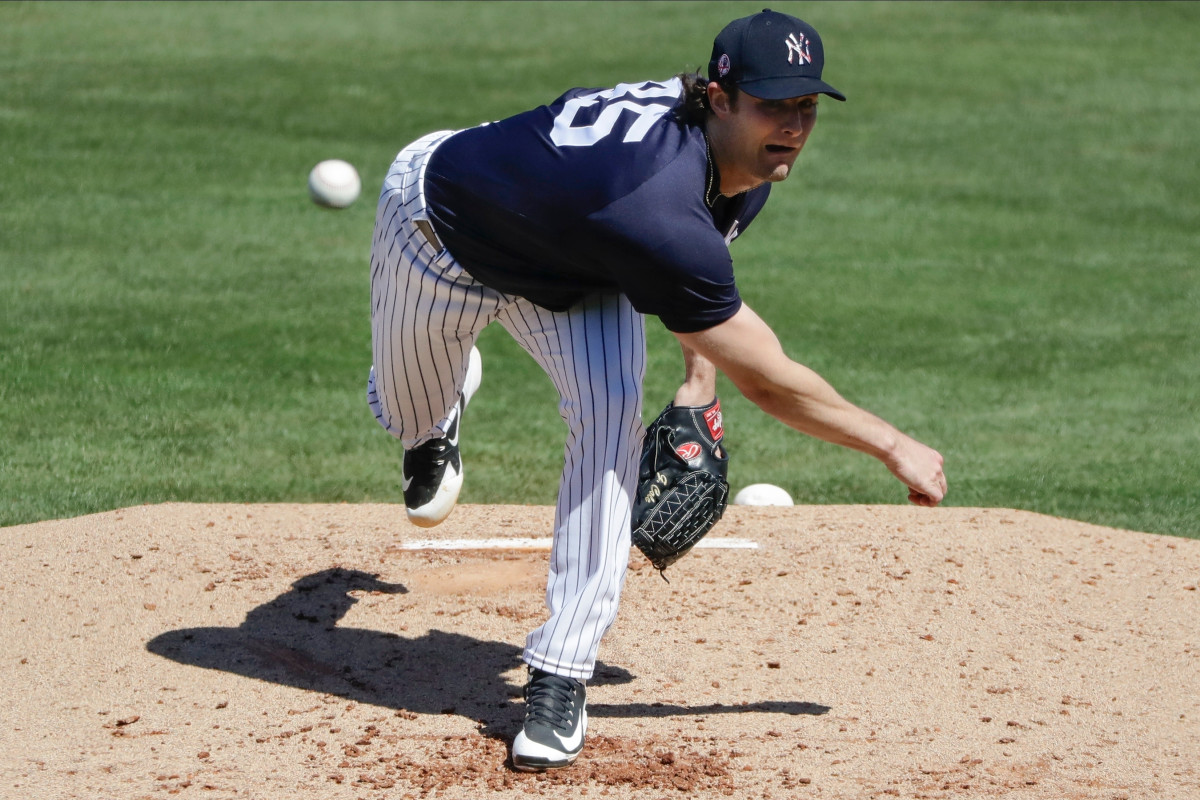 Gerrit Coles teammates will be his first Yankees pitching test trib.al/RFKN4ab