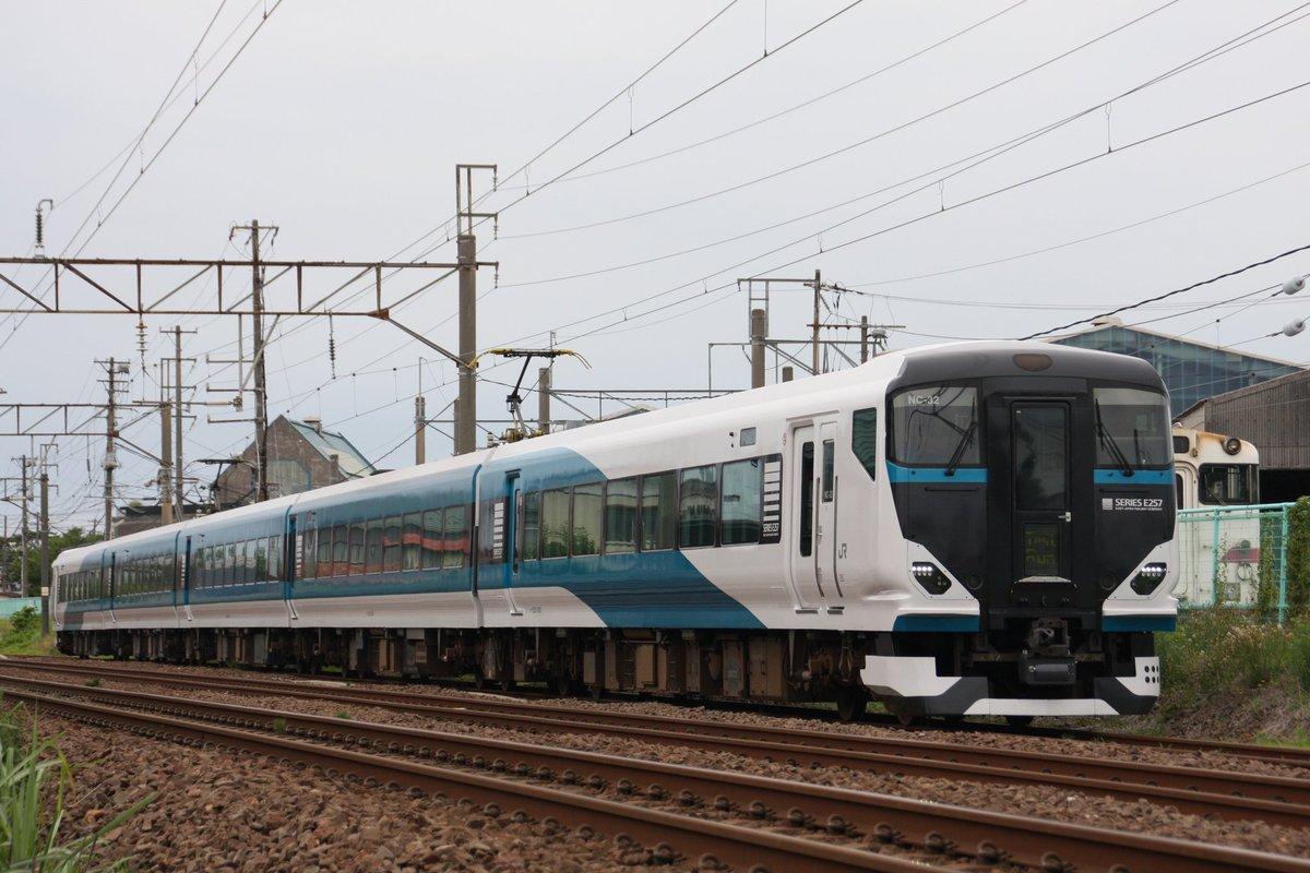 E257系NC-32編成【宮オオ】AT構内試運転これが2500番台の完成形なのか。