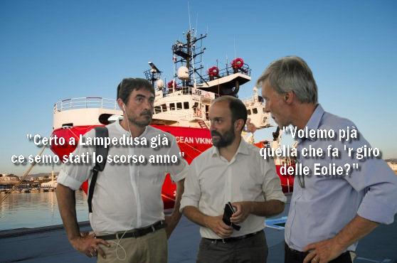 La vacanza sul barcone a sinistra non è più di moda @lefrasidiosho per #iltempodioshø ➡️ https://t.co/m9iRSmMwc7 #OceanViking #osho #ong #migranti #pd  #orfini #delrio #carolarackete #6luglio https://t.co/WtoMnvcvPJ