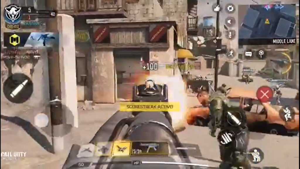 #CODMobile  In one of CODM's Promo Video, it shows new Weapon UI and the Calling Card is shown above the Kill Feed!pic.twitter.com/8l05IVyJAC
