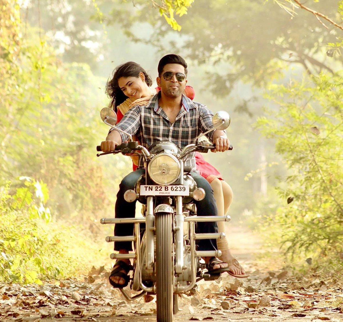 A fresh still from the upcoming movie #Sinam starring @arunvijayno1 @pallaklalwani and directed by @gnr_kumaravelan