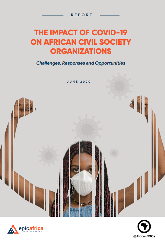 [Report] The Impact of #COVID19 on African Civil Society Organizations - Challenges, Responses & Opportunities.  Read the feedback received from 1015 CSOs in 44 African countries: https://t.co/RhAfmFfJ24 via @EPIC_Africa_ @africanngos #CivilSociety #Africa https://t.co/80flbvWiqn